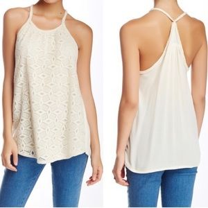 NWT Romeo & Juliet Couture crochet top